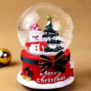 Bola de cristal de Navidad