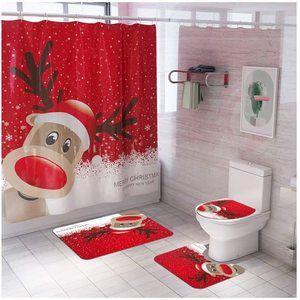 La mejor decoración para el baño de Navidad