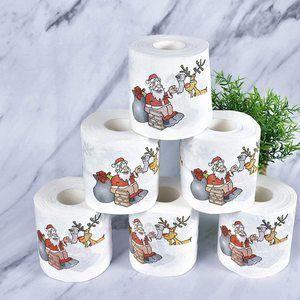 El mejor papel higiénico de Navidad