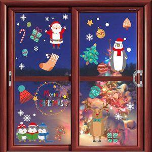 Las mejores pegatinas de Navidad para cristal