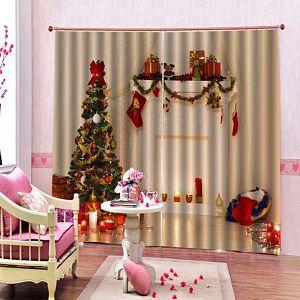 comprar cortinas navideñas