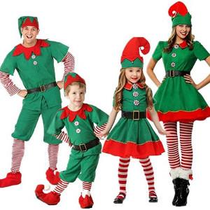 Disfraces de elfos de Navidad