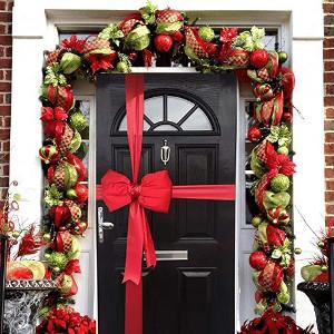 Los Mejores Lazos de Navidad para Puertas
