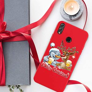 comprar funda móvil navideña