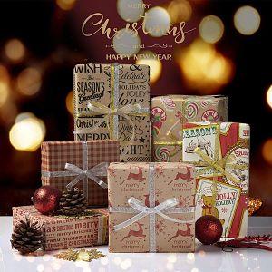 comprar papel de regalo navideño