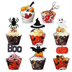 decoracion cupcake halloween